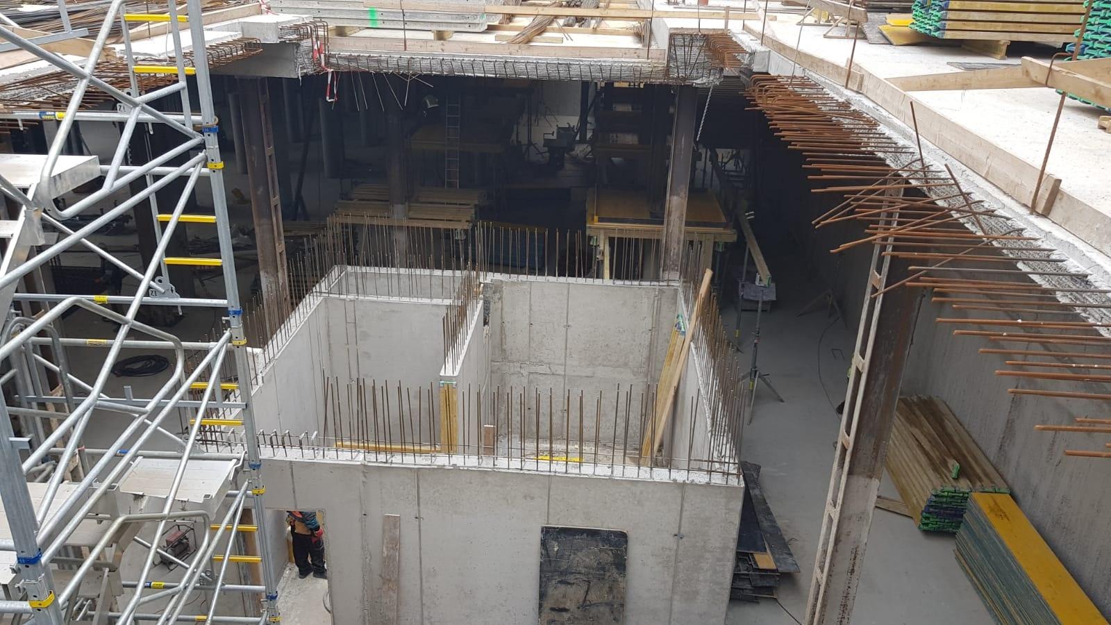 Průběh výstavby