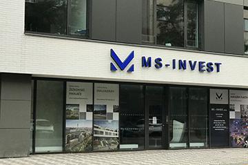Moravská stavební - INVEST a.s. - Pobočka Praha